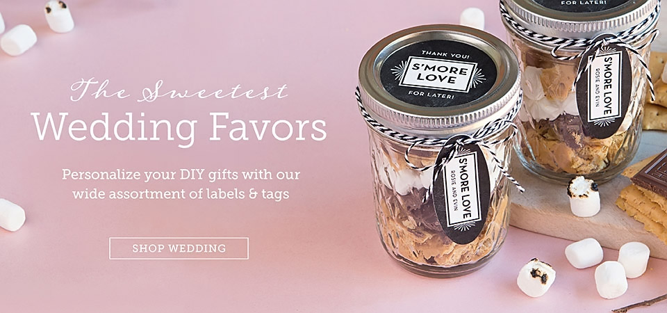 Custom Wedding Favors & Tags